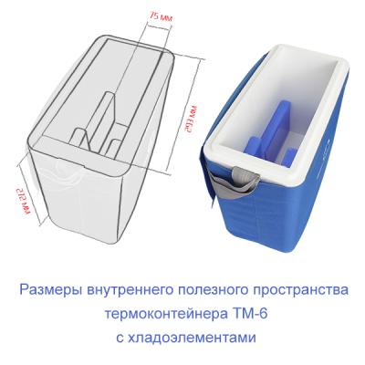 Термоконтейнер ТМ6 (6,8 литров)